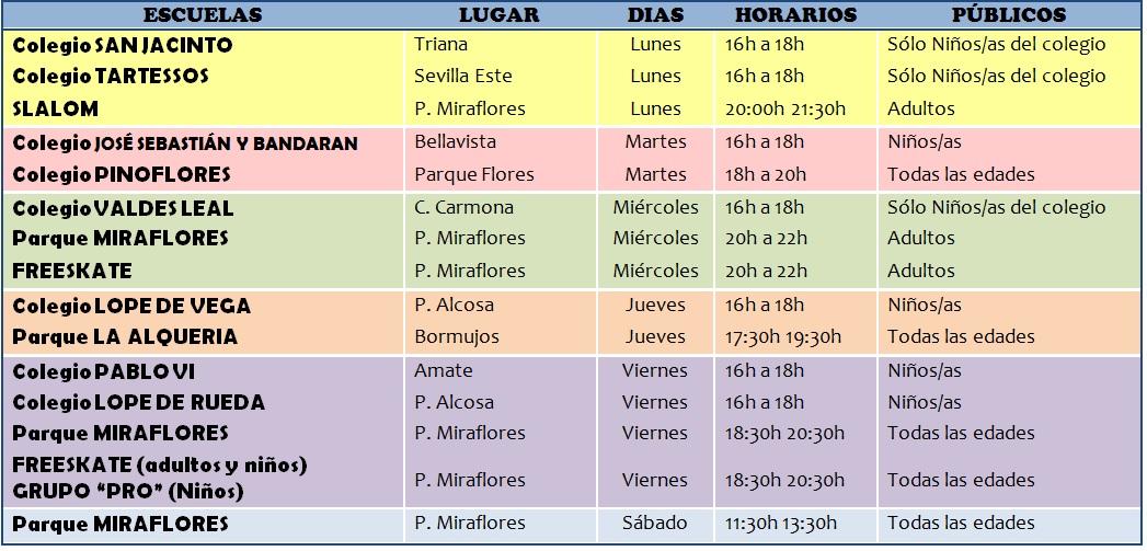 CUADRO ESCUELAS 2016-17 nuevo