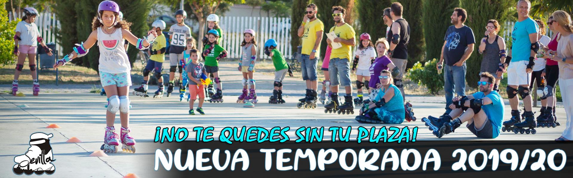 Horarios y escuelas donde impartimos nuestras clases de patinaje en Sevilla, en la temporada 2019/2020 en Sevilla Patina